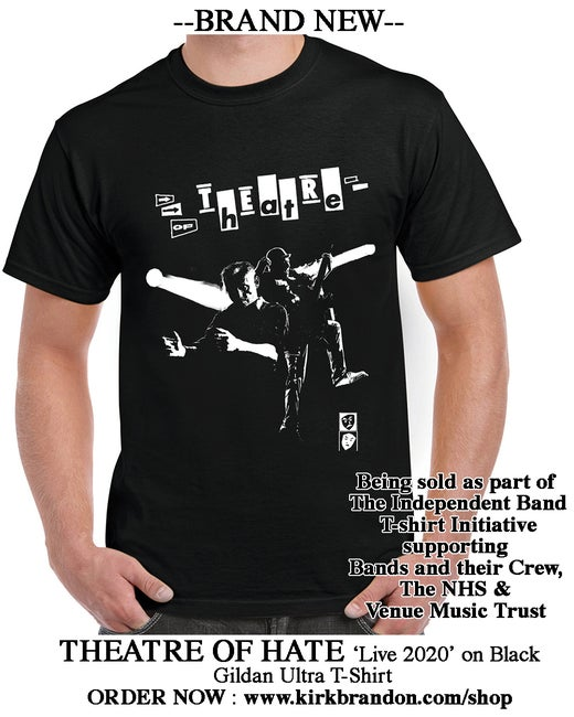 THEATRE OF HATE Live 2020 T-shirt