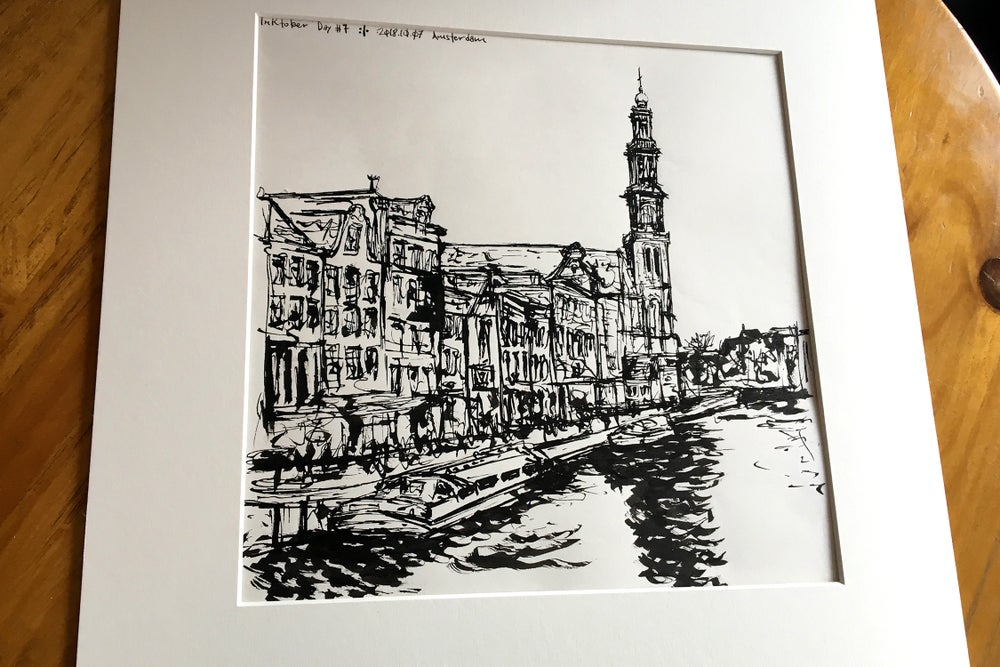 Image of Urban Inkscape 4 - Amsterdam