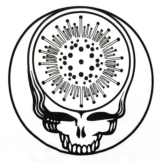 Image of Steal Yr Face Glow In The Dark Tee