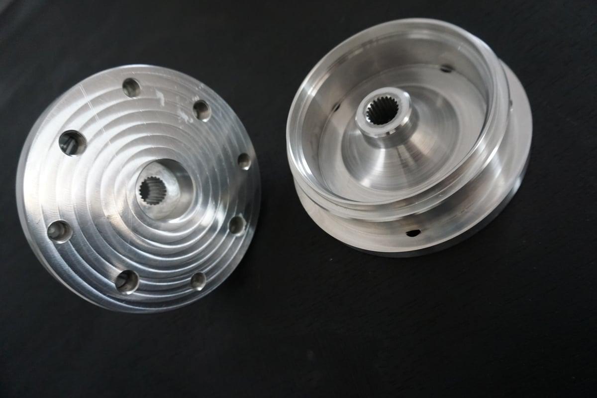 FLP - 50cc GET  Rear hub 4x4 - 4x110