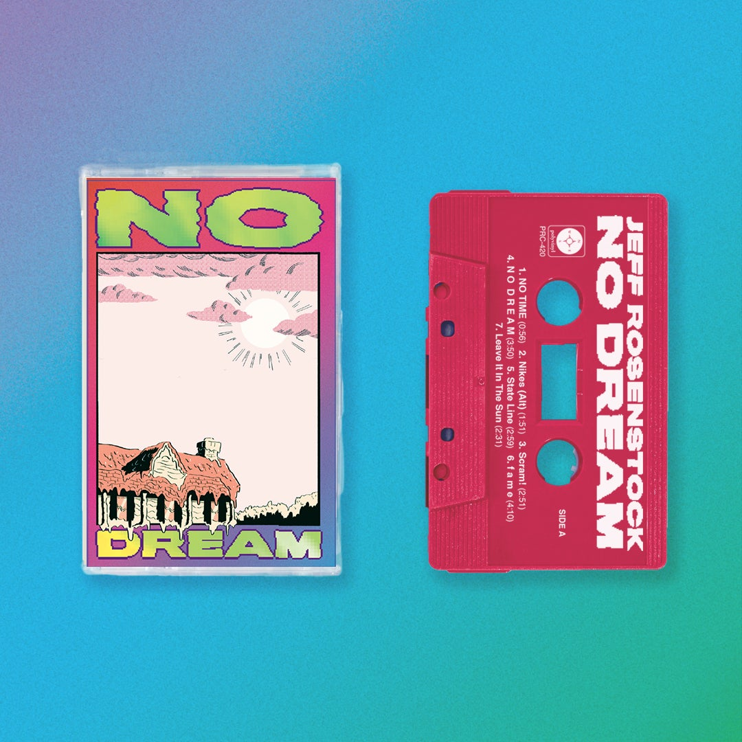 Image of **PRE-ORDER** Jeff Rosenstock - NO DREAM CASSETTE
