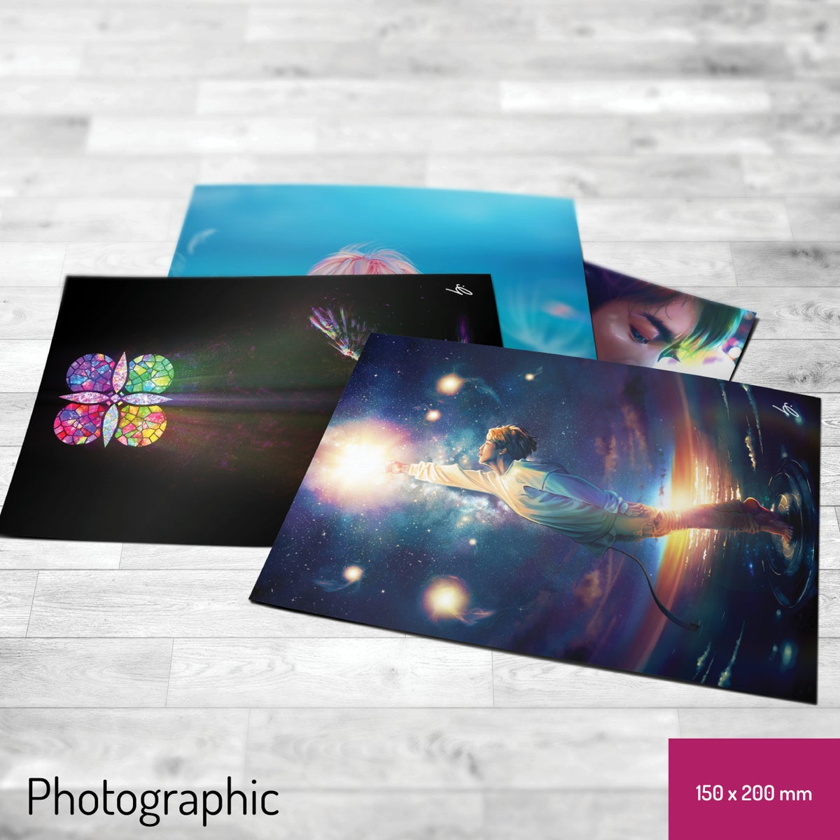 Image of Set of 4x 15x20cm photographic prints (your choice)