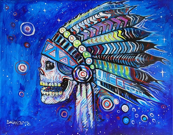 Image of Cosmic Skull Chief.