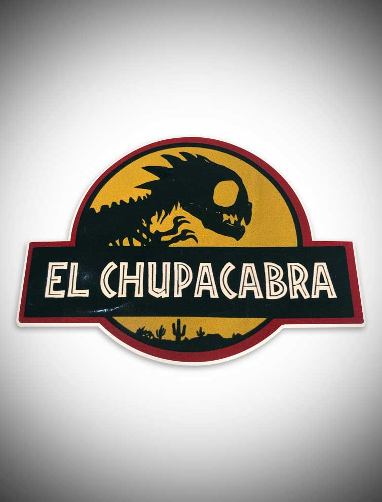 "El Chupacabra (3"" Sticker)"