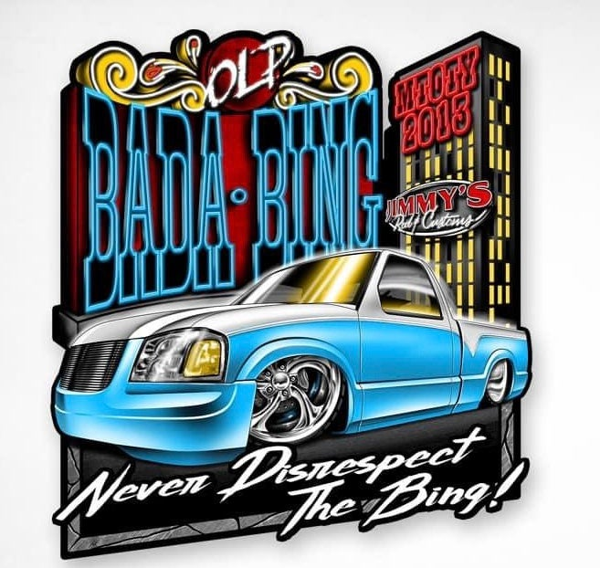 Image of Bada Bing (Sticker)