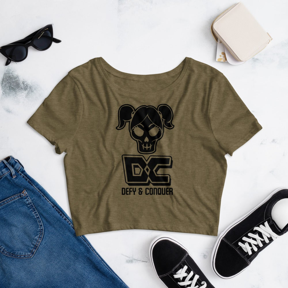 Image of Fera Mahate Collection Women's Crop Tee