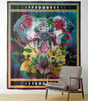 """Matrix of Creation"" Tapestry"