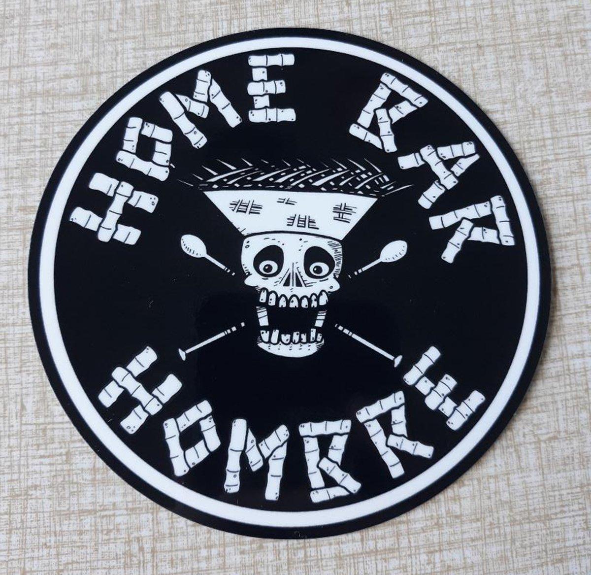 "HOME BAR HOMBRE 4"" Vinyl Sticker"