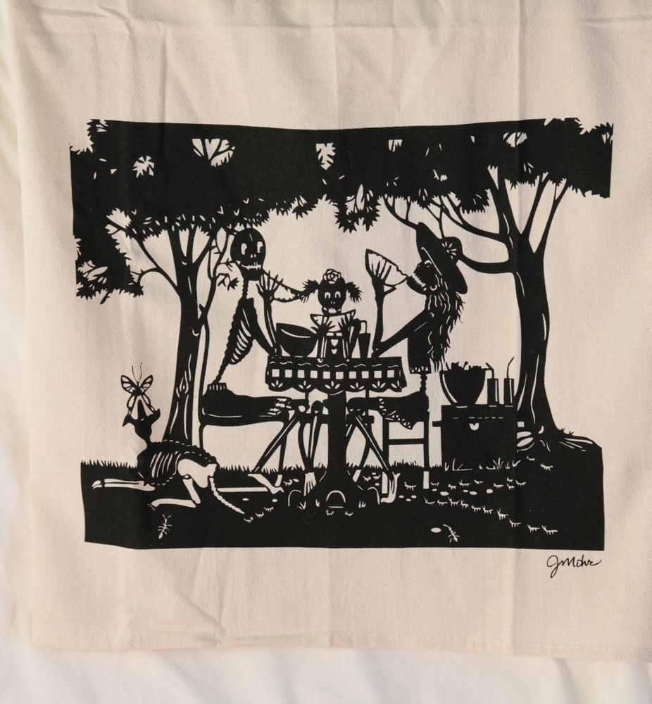 "Image of ""Picnic"" Dishtowel"