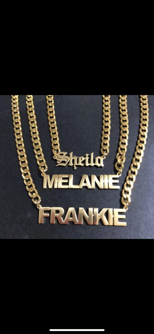 Image of Custom Name Necklace