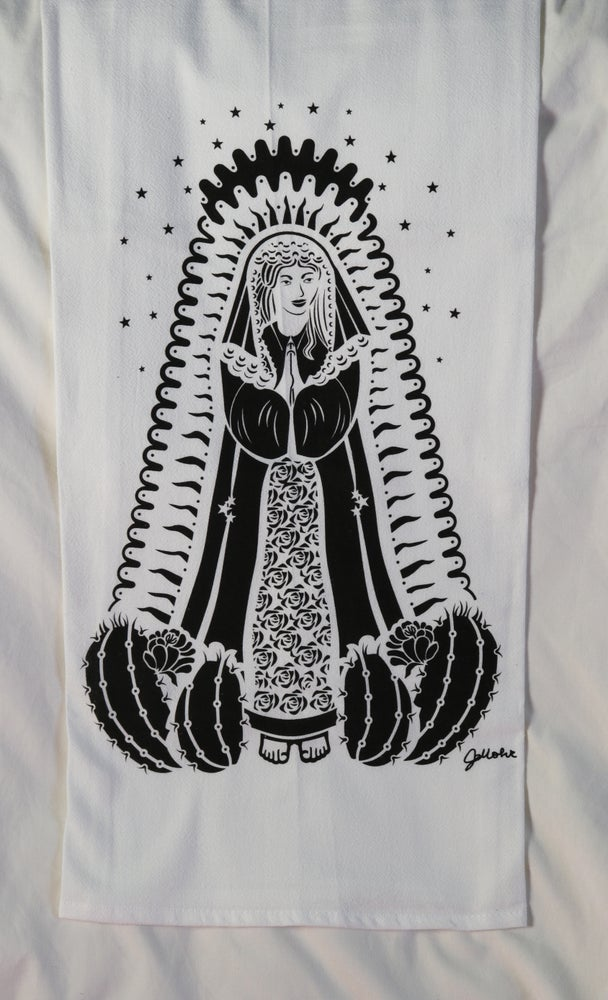"Image of ""Our Lady of Guadalupe"" Dishtowel"