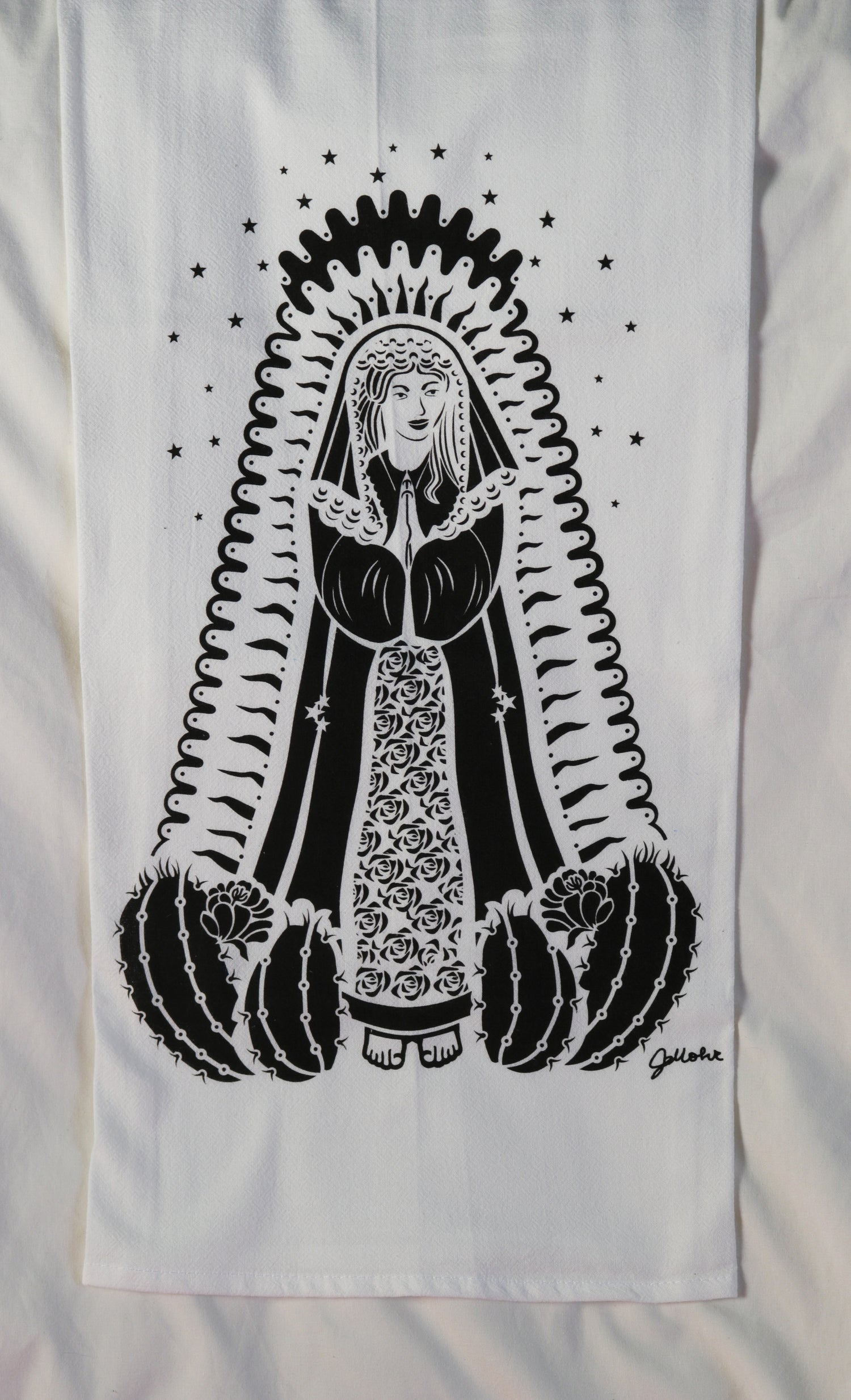 """Image of """"Our Lady of Guadalupe"""" Dishtowel"""