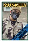 Camo Monkee Head Face Mask