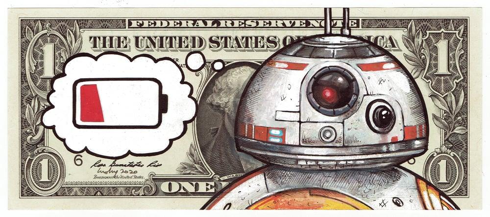 Image of Real Dollar Original. Rolled Flat.