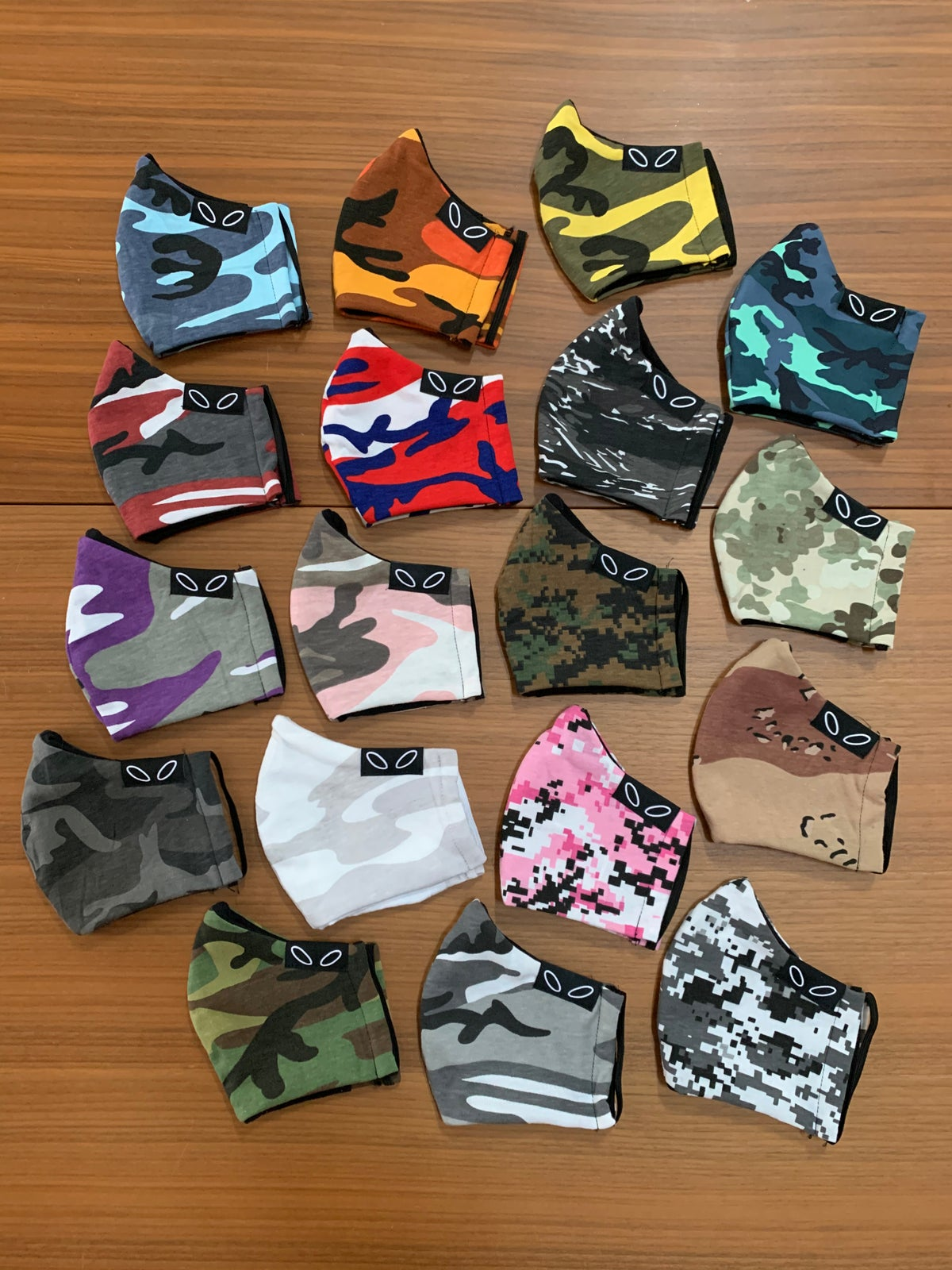 Image of Camo Face Masks