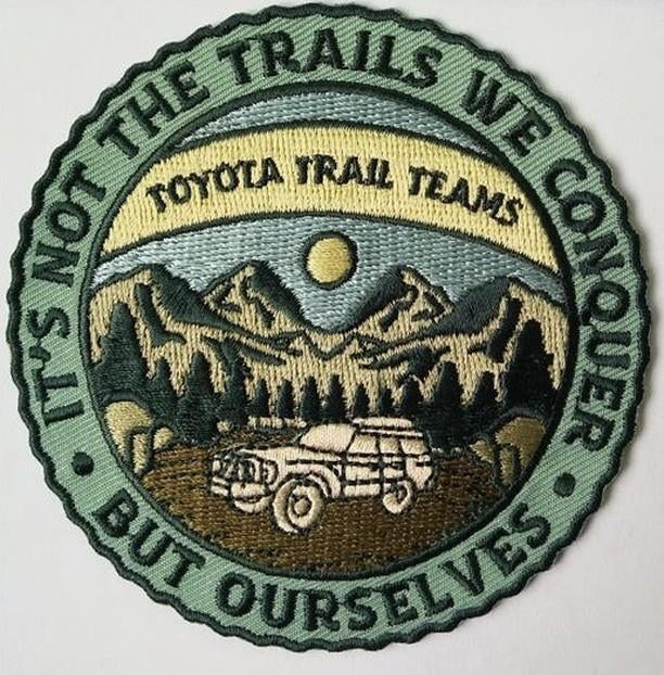 Image of Trails/Mountains Patch