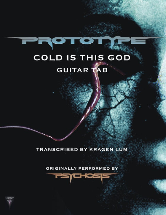 Image of Prototype - Cold Is This God Guitar Book (eBook)
