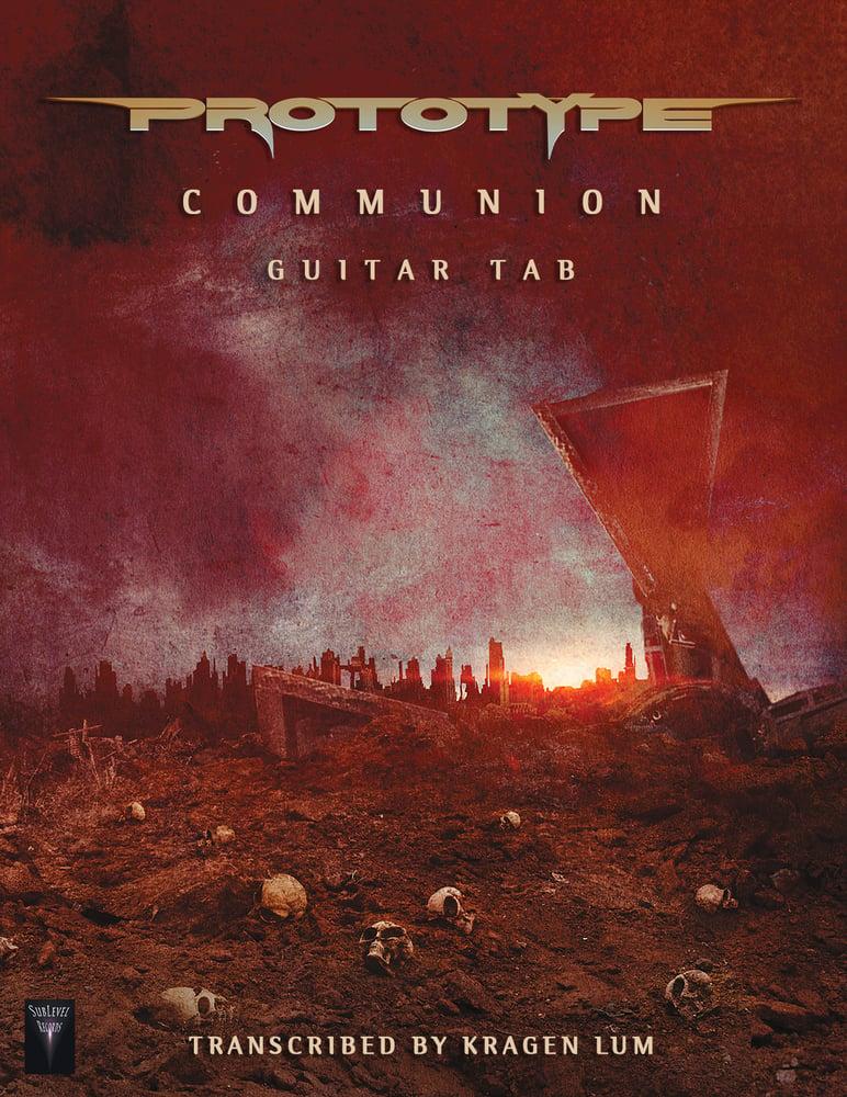 Image of Prototype - Communion Guitar Book (eBook)