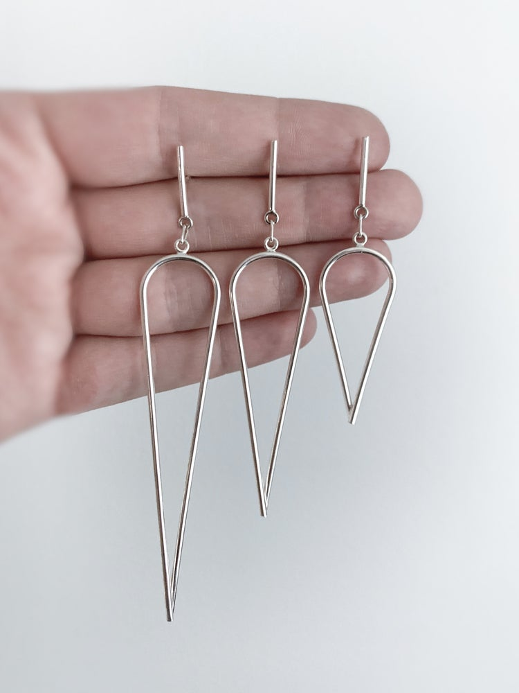 Image of Dagger Earrings - Small