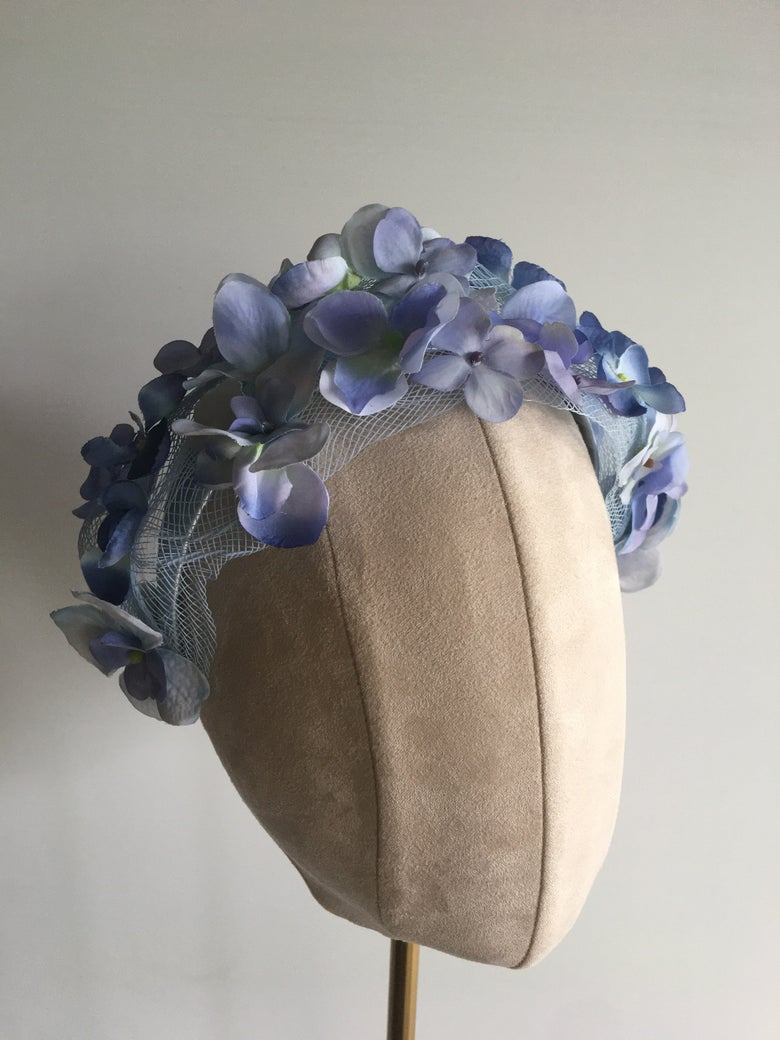 Image of Soft blue headband