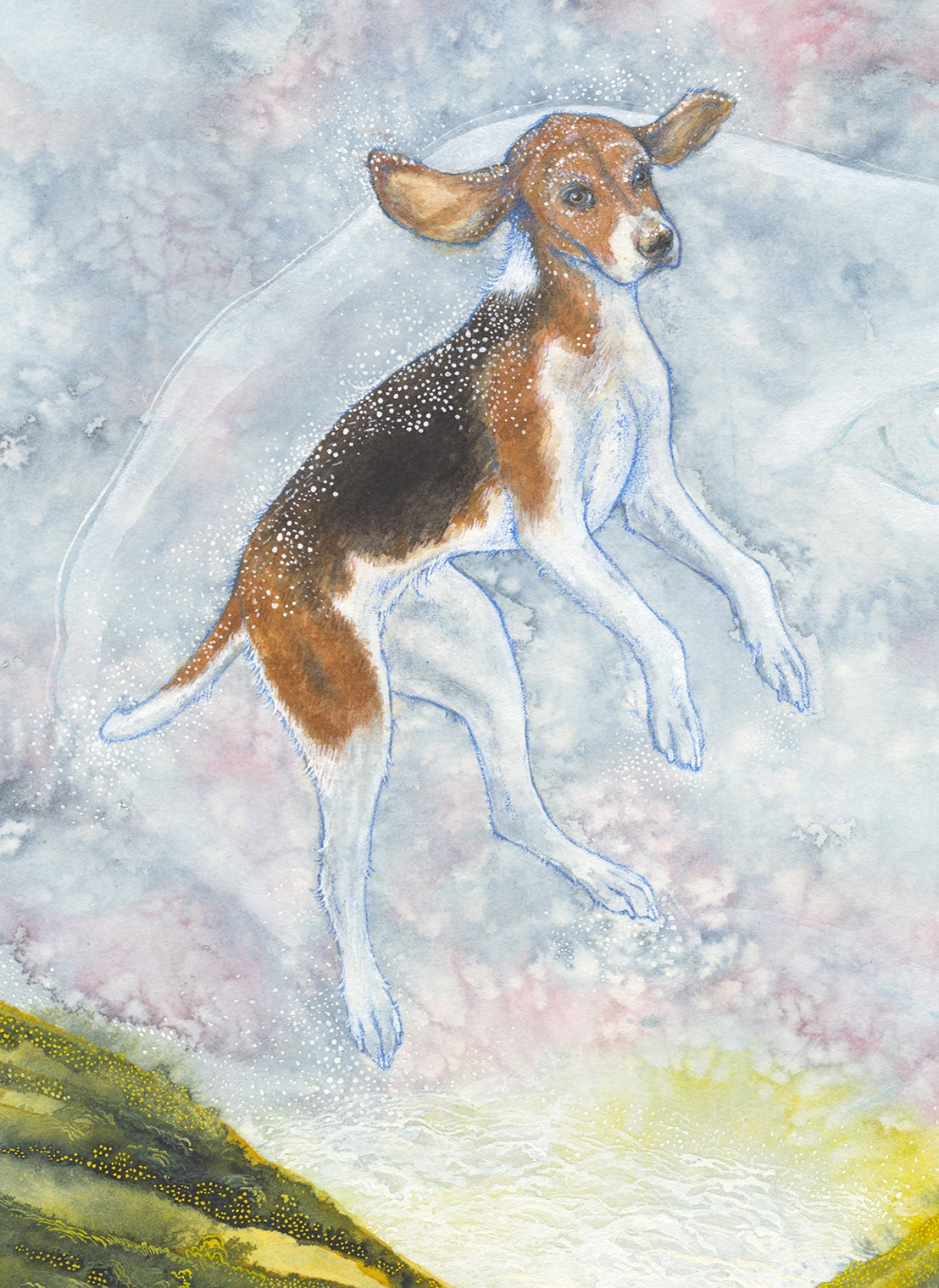 "Image of ""Phoebe Ascending into Magic"" giclee print"