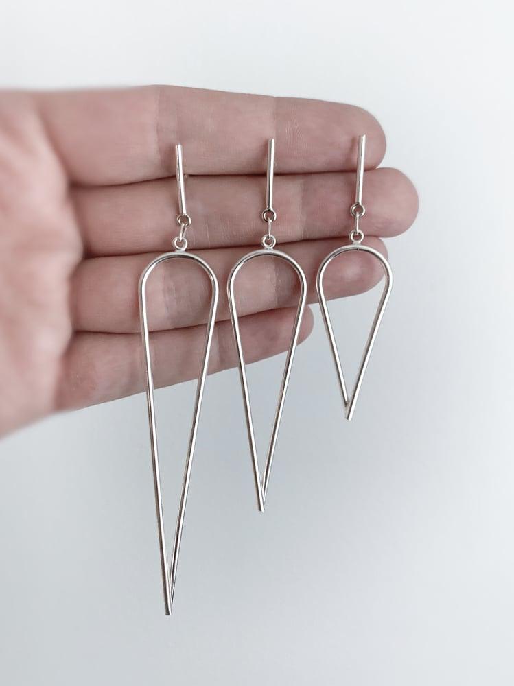 Image of Dagger Earrings - Medium