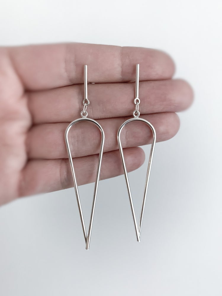 Image of Dagger Earrings - Medium