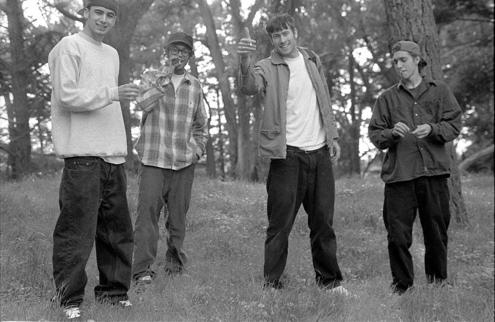 Carl Shipman, Chris Pastras, Jason Lee and Mike Daher 1993