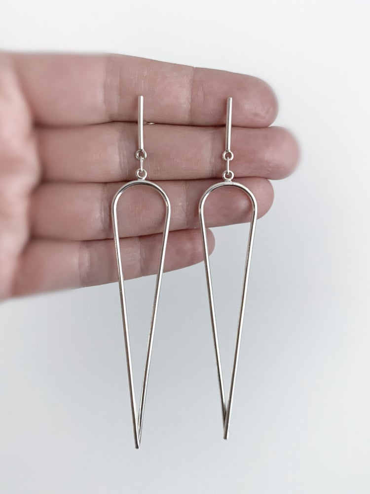 Image of Dagger Earrings - Large