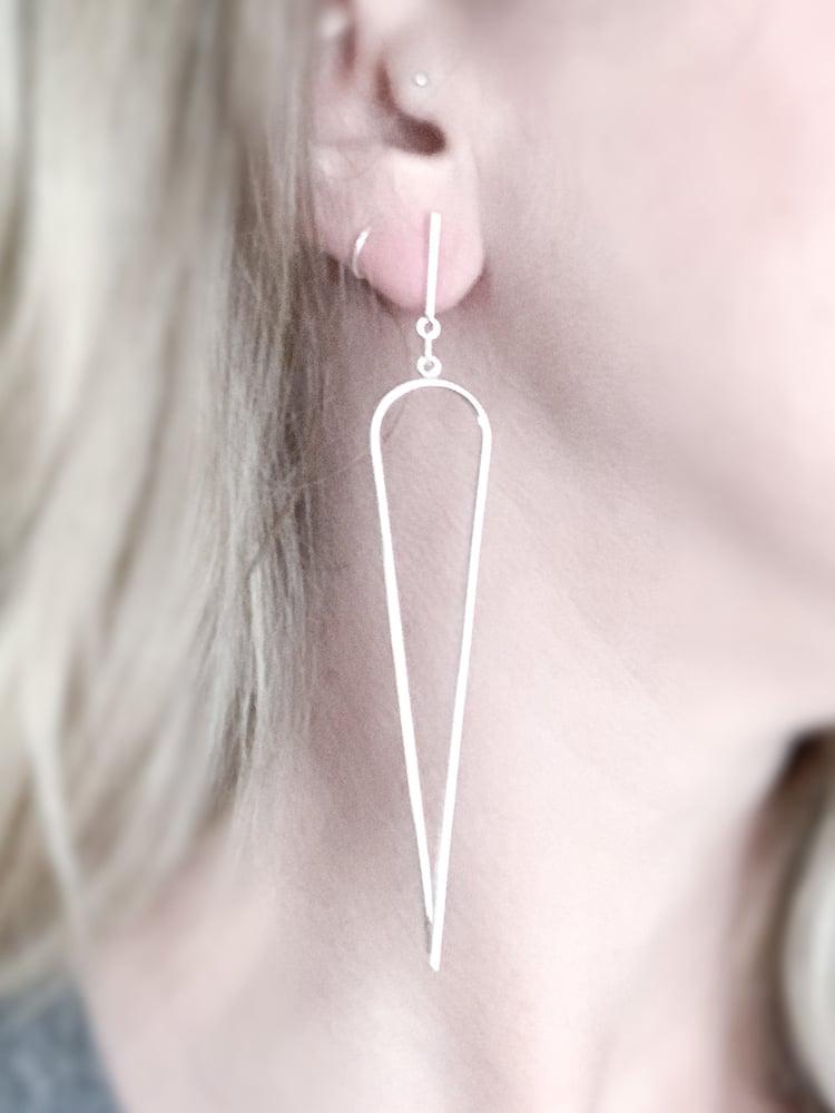 Image of Dagger Earrings - Large