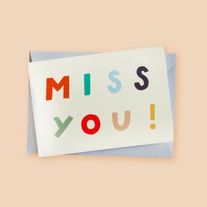 Image of Miss you!