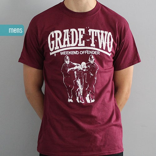 Image of Weekend Offender Burgundy | T-Shirt