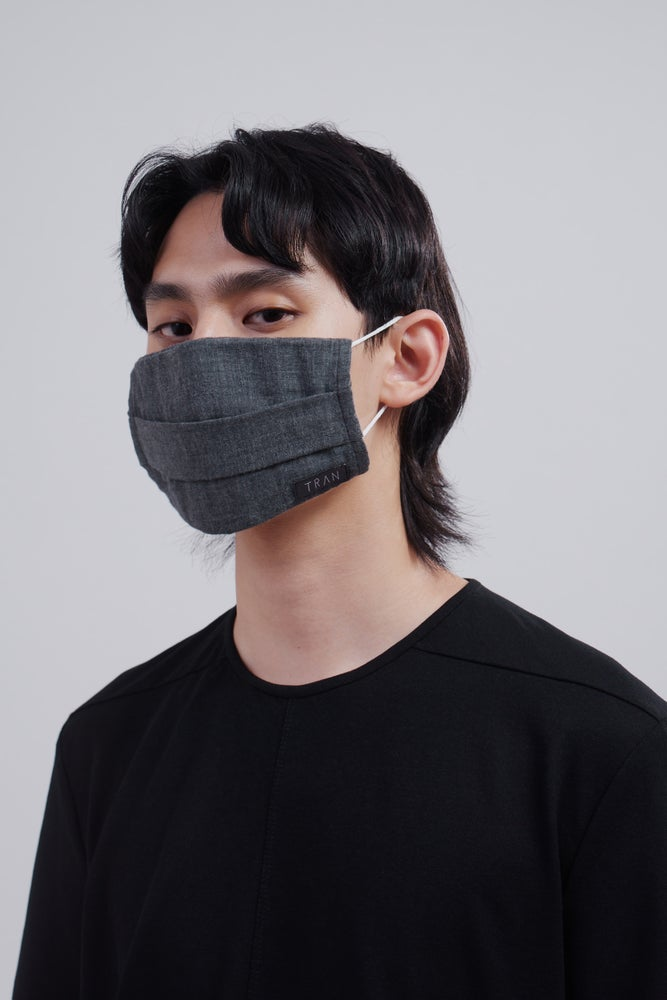 Image of TRAN - 二重紗織棉質雙面用口罩套 (成人)
