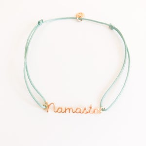 Image of Bracelet lien HAPPY SANSKRIT