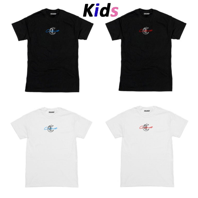 KIDS · SIGNATURE OVERLAY T-SHIRT