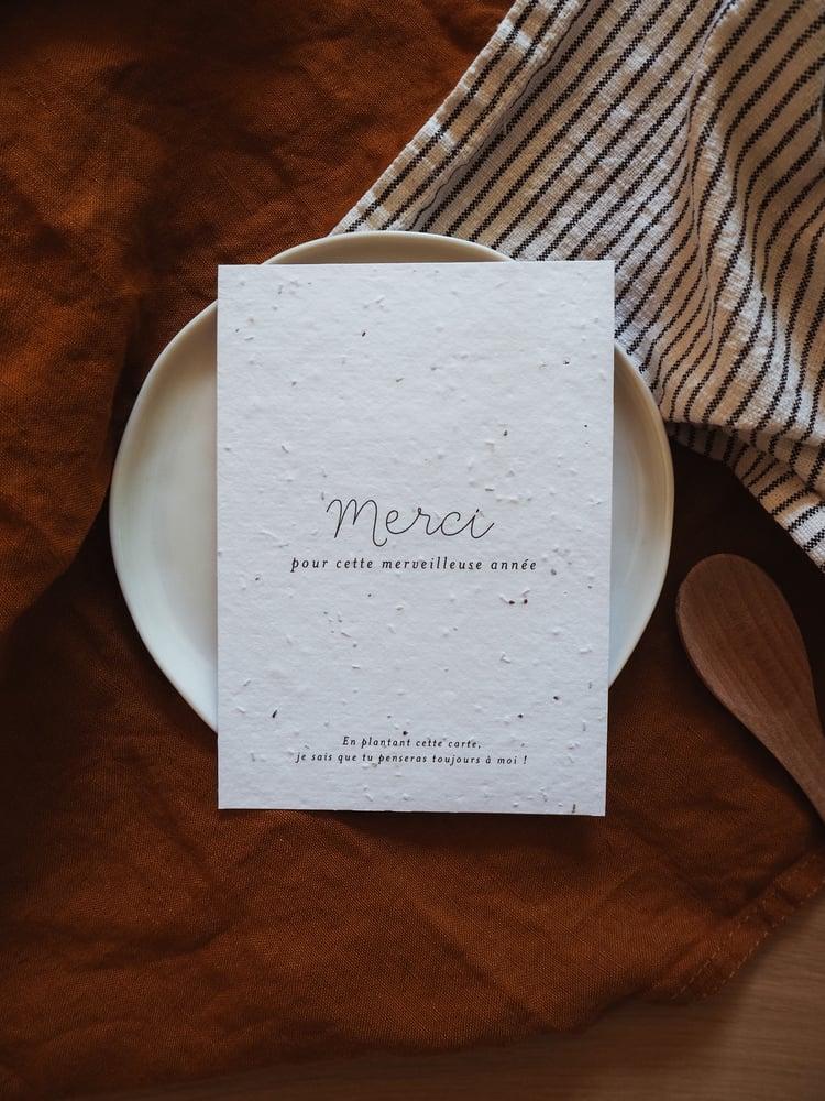 Image of Carte à semer MORGANE (avec enveloppe)
