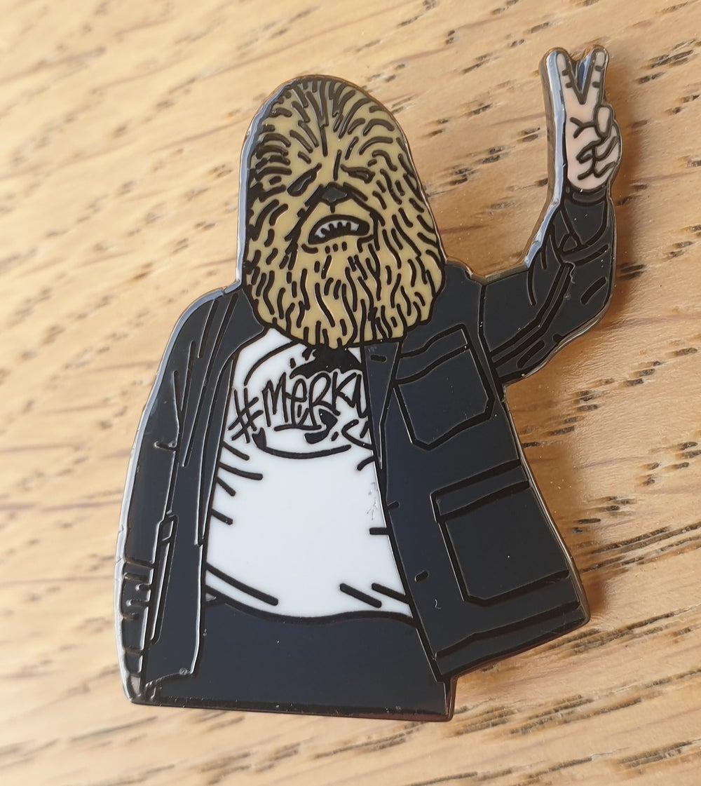 No backing card/ reduced Chewis (Lewis) Capaldi Limited Edition Pin Badge