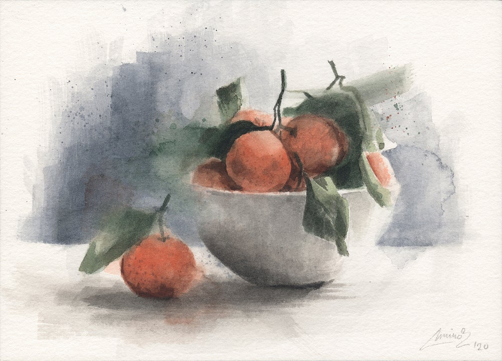 Image of Mini Watercolor #07