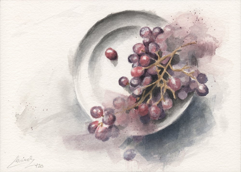 Image of Mini Watercolor #09