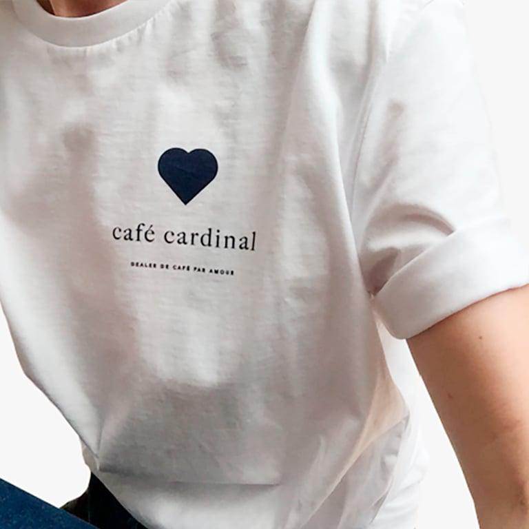 Image of Tee shirt café cardinal