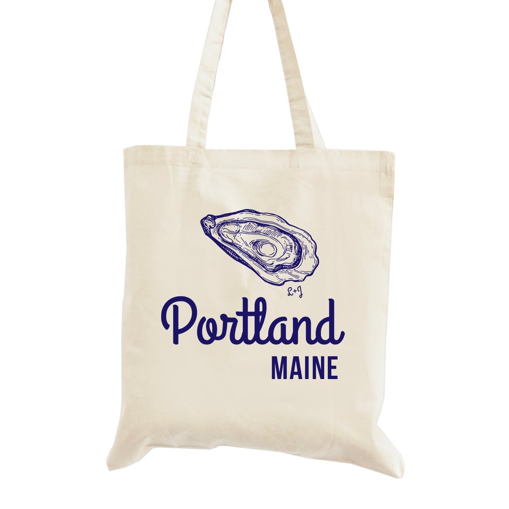Image of Oyster Wedding Welcome Tote Bag