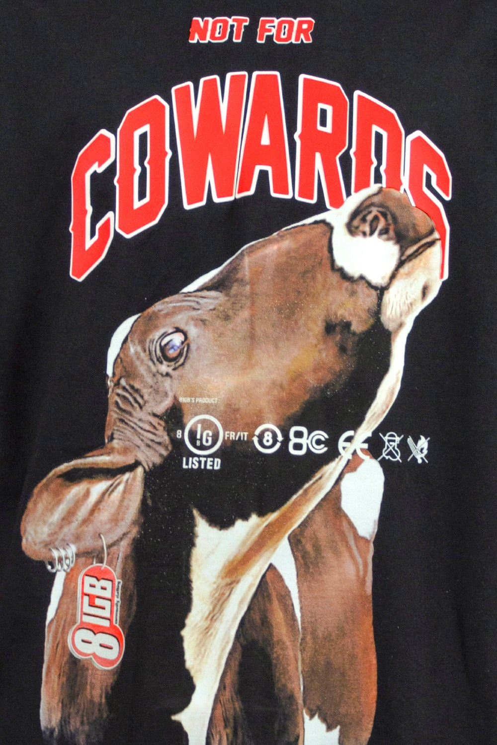 N4 COWARDS COW t-shirt
