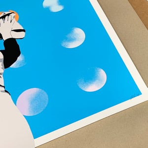 """Image of """"Spot Remover"""" Blue Edition of 15 - Screen Print"""