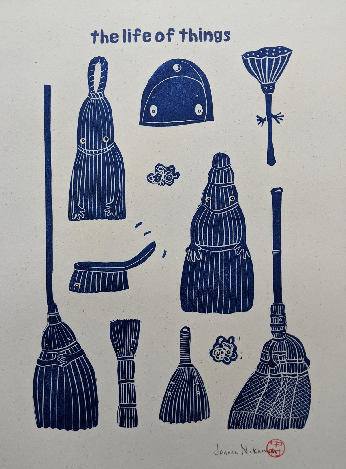 Image of the life of things - brushes + brooms