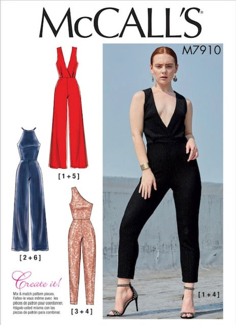 Image of VIRTUAL or IN PERSON Knit Jumpsuit Class on Zoom: Pattern Included