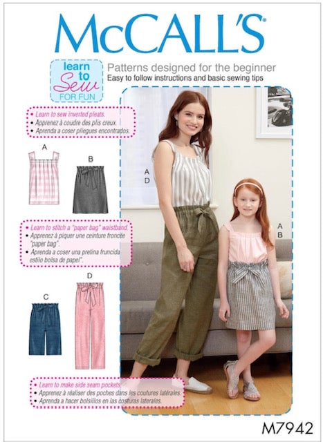 Image of VIRTUAL: Summer Wardrobe Class for Beginners on Zoom: Pattern Included