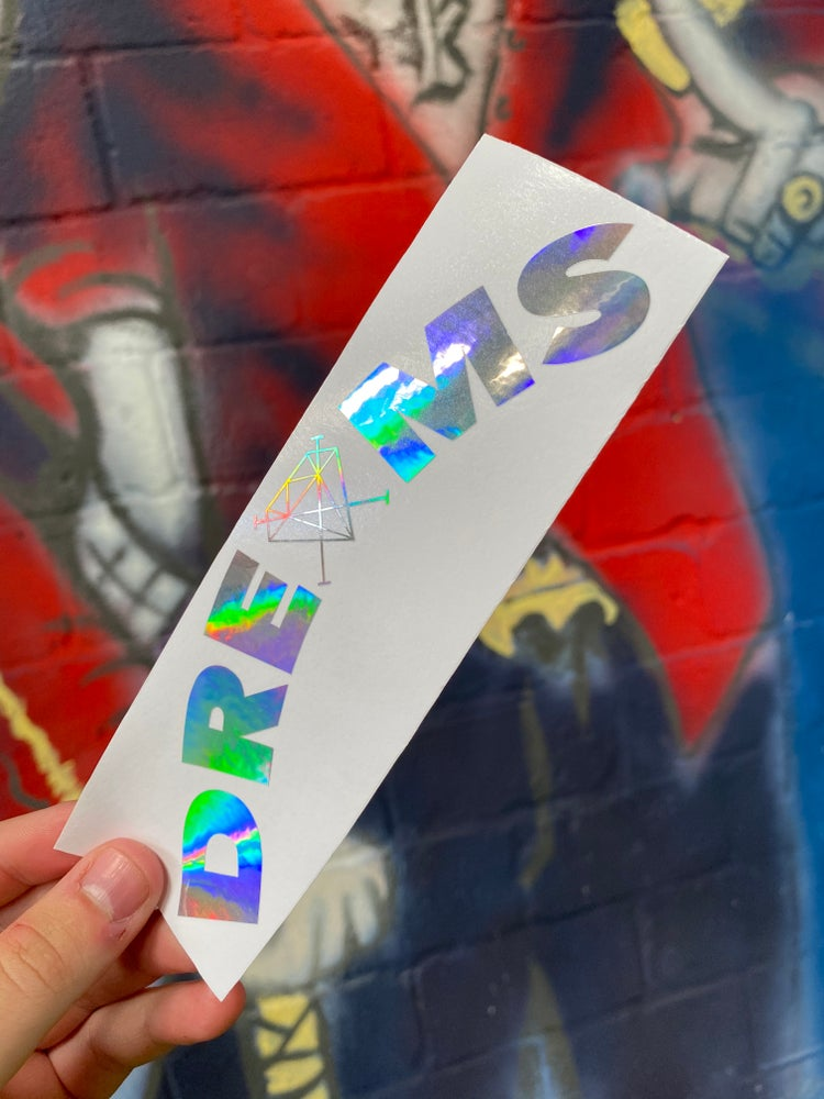 Image of DREXMS Arch Decal - Oil Slick