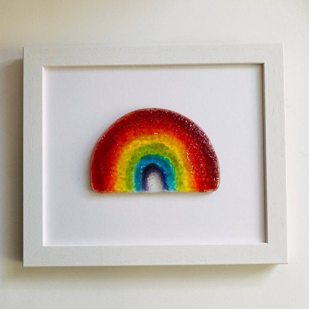 Image of Large Framed rainbow