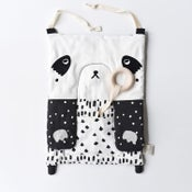 Image of Wee Gallery Peek a Boo Panda Activity Pad