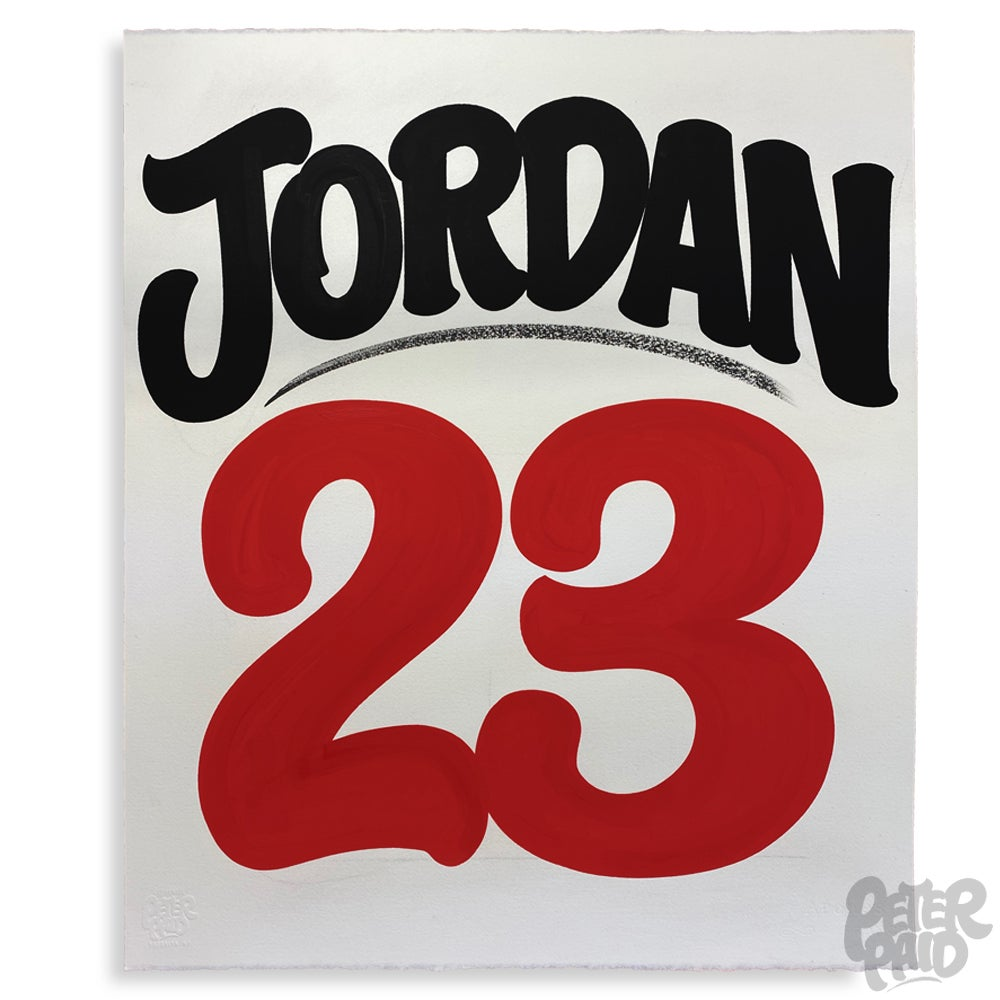 Image of Jordan 23 - Arches Paper